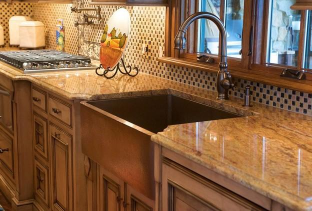 Copper kitchen design