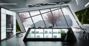 9 Futuristic Kitchen For Uniquely Modern Kitchen