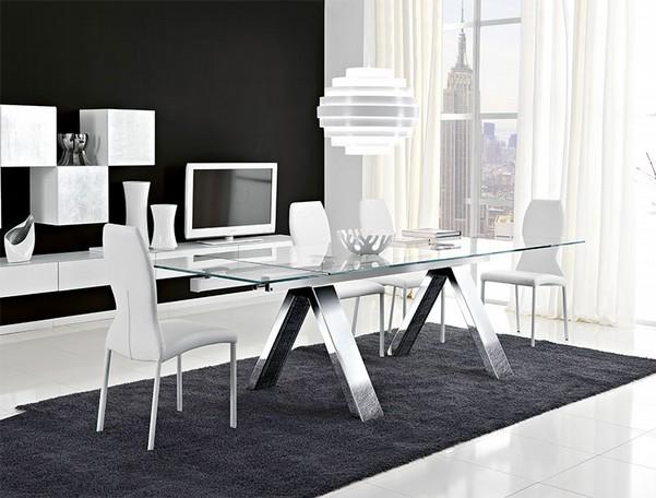 Modern Glass Dining Table