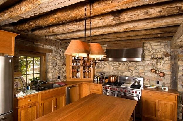 10 Best Stone Wall Ideas For Rustic Kitchen Design