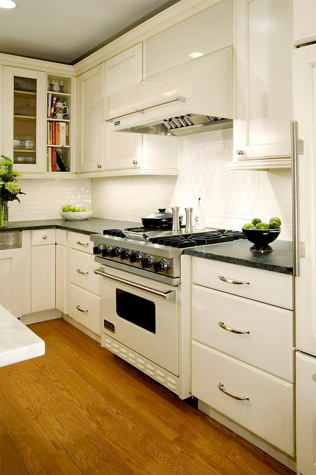 white appliance kitchen