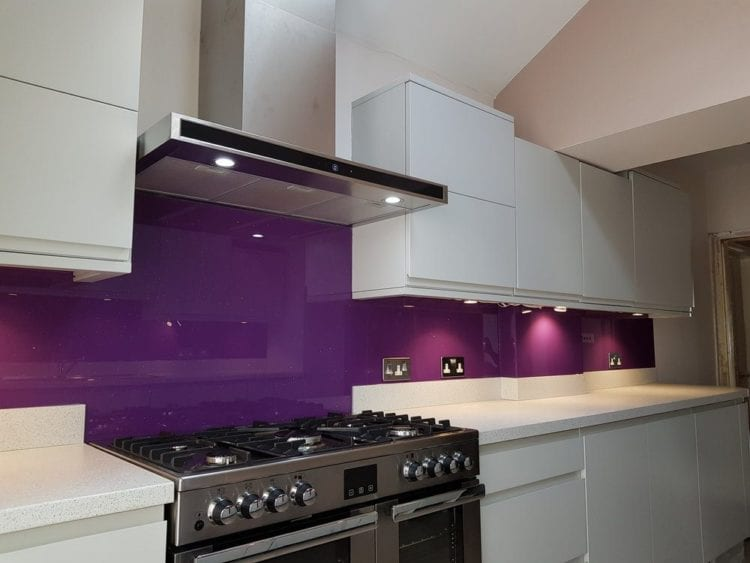 purple kitchen ideas