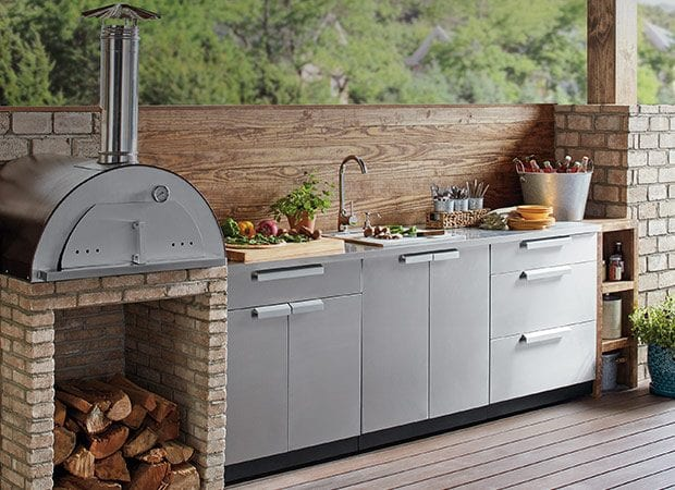 17 Outdoor Kitchen Style: A Small Paradise on Your Yard