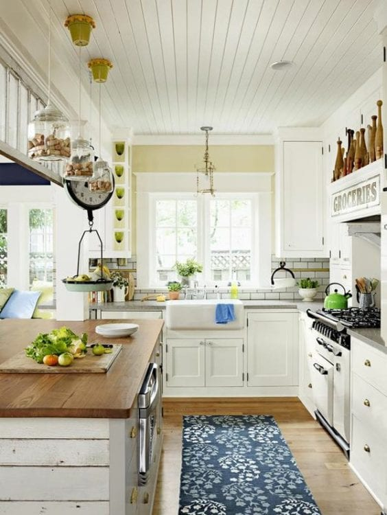 cottage kitchen style