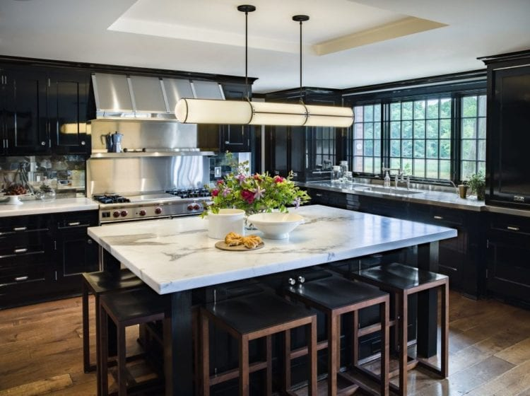 black kitchen ideas