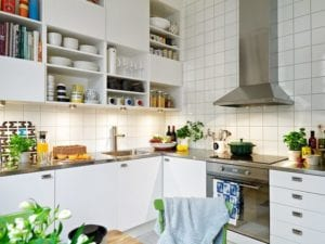 15+ Stunning Ideas for Scandinavian Kitchen Style