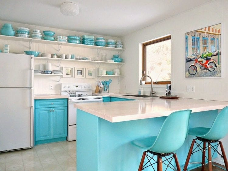 retro kitchen style