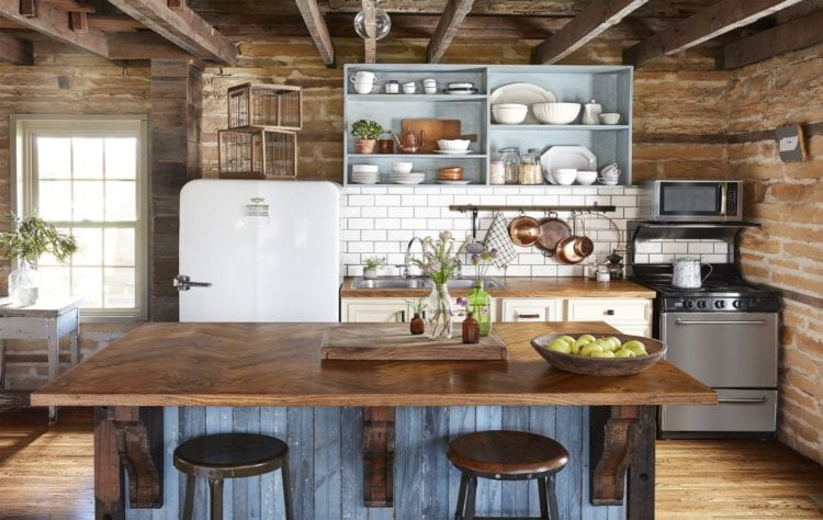 farmhouse kitchen style