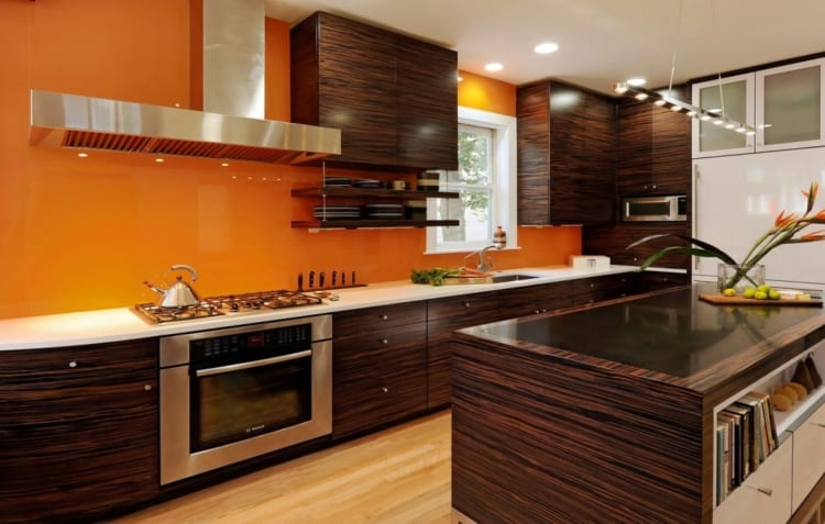 orange kitchen ideas
