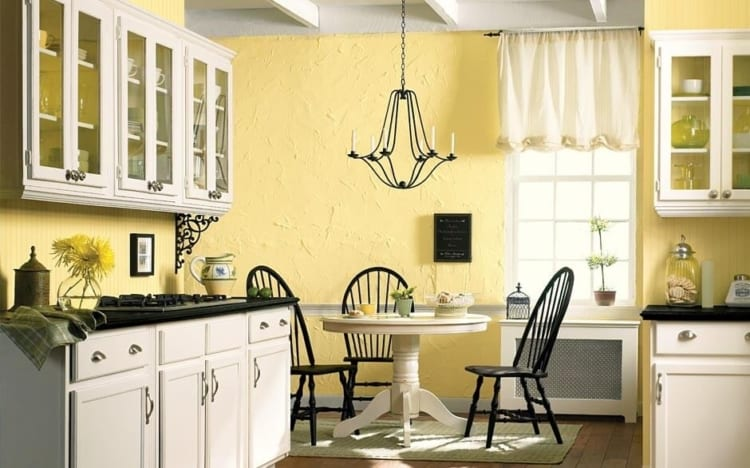 yellow kitchen ideas