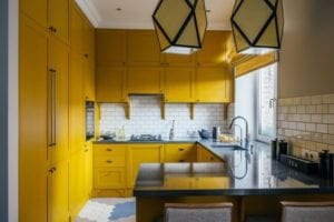 17 Stunning and Bright Yellow Kitchen Ideas