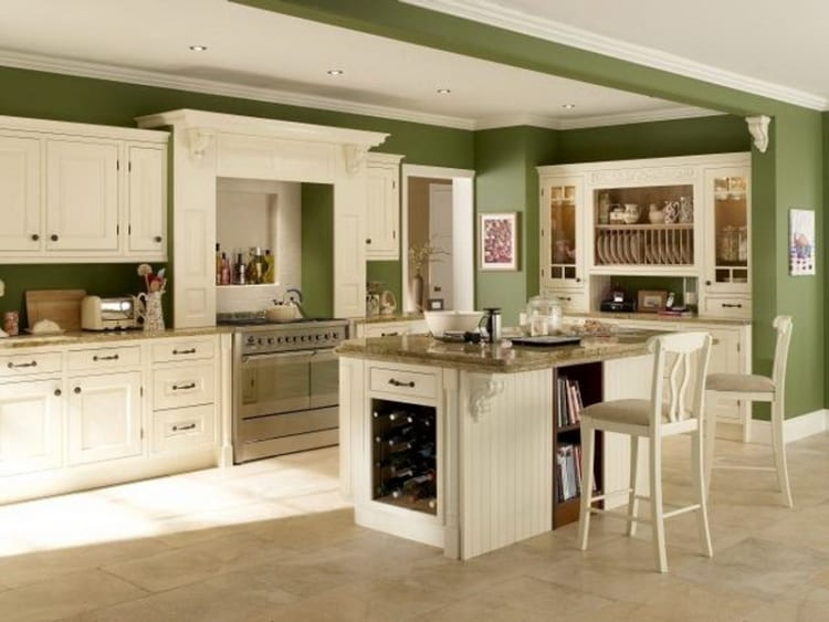 green kitchen ideas