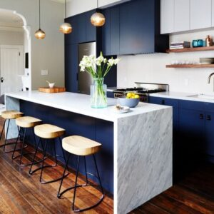 17 Calming Inspirations of Using Blue Kitchen Ideas
