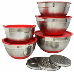 7 Best Stainless Steel Bowls with Lids
