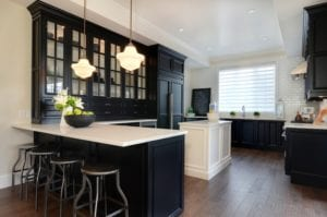 17 Black Kitchen Island to Bring the Masculinity throughout
