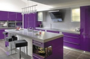 Strangely Beautiful Purple Kitchen Appliances