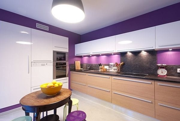 purple kitchen appliances