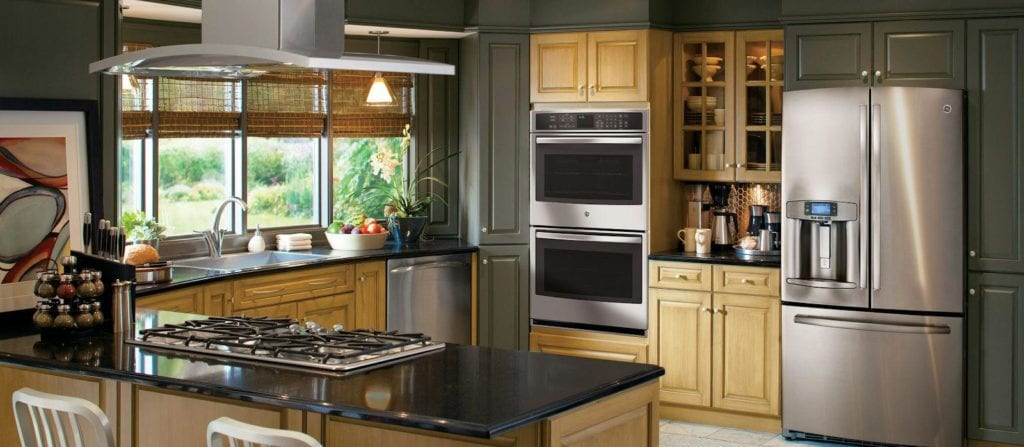 black kitchen windowtreatments