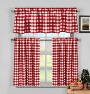 17 Red Window Treatments to Steal People's Attention
