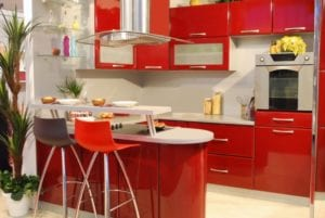 Make a Statement with These Red Appliances In The Kitchen
