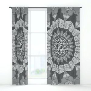 Monochrome Kitchen Window Treatments You Wouldn't Want to Miss