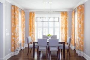 16 Alluring Orange Window Treatments