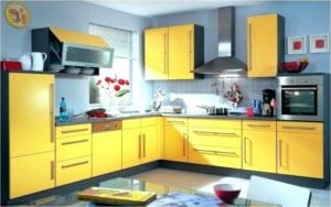 Make Your Kitchen Energetic and Free Spirited with Yellow Appliances