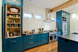 Blue Kitchen Appliances and Designs That Help You Feel Peace and Get Inspired