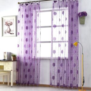 17 Posh Ideas of Purple Kitchen Window Treatments