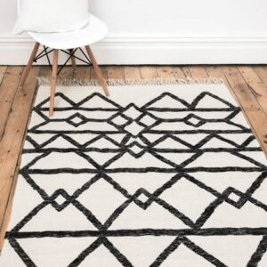 17 Monochrome Rug Design Ideas That Will Inspire You