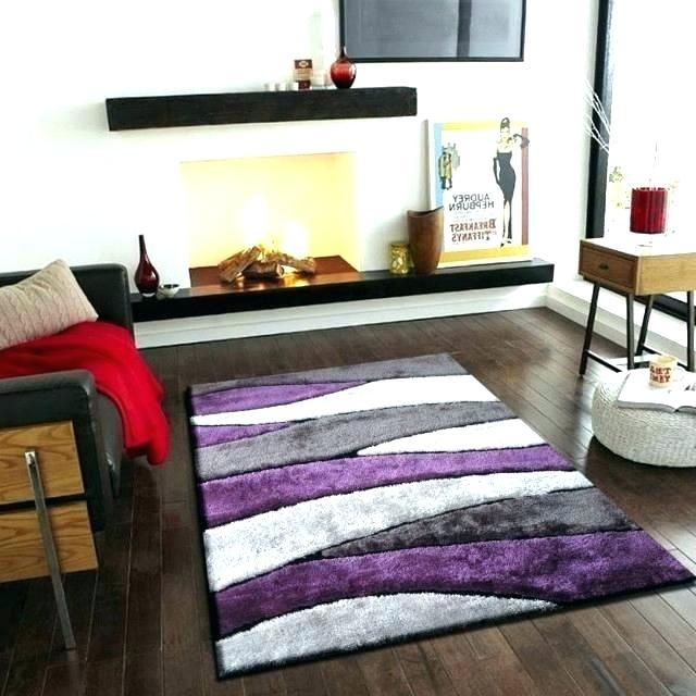 purple kitchen rug