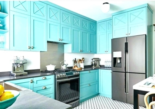 Blue Kitchen Wall Decor