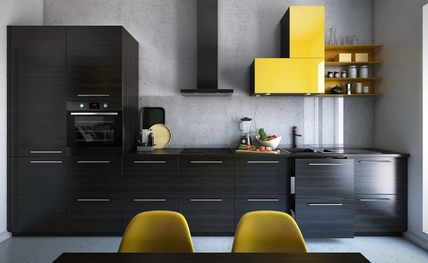 Black Kitchen Wall Decor
