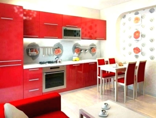 Red Kitchen Wall Décor Ideas