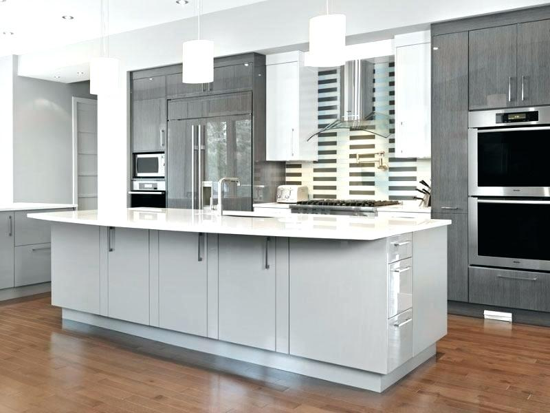25 Homely Gray Kitchen Cabinets For Cool Cooking Space