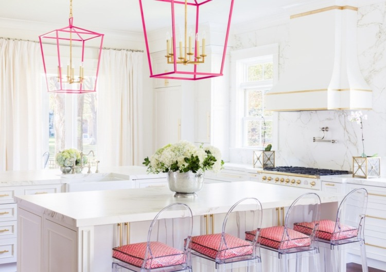 Pink Kitchen Design Ideas