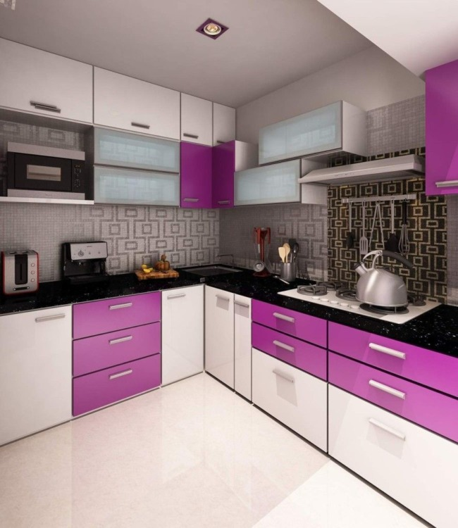 35 Inspiring Purple Kitchen Ideas That You Ll Love