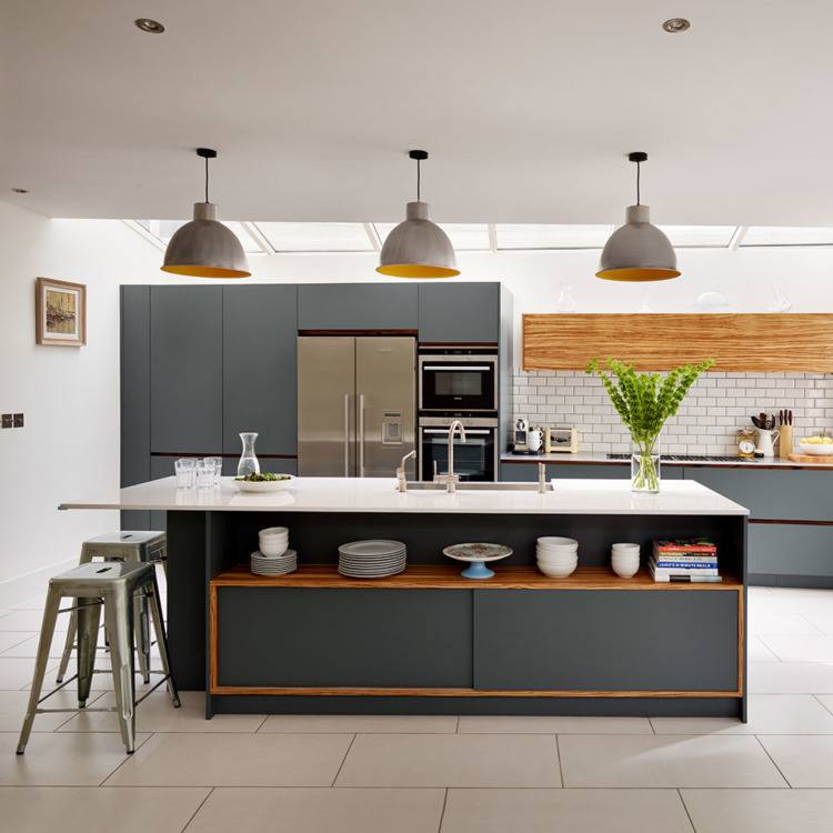 Gray Kitchen Design Ideas
