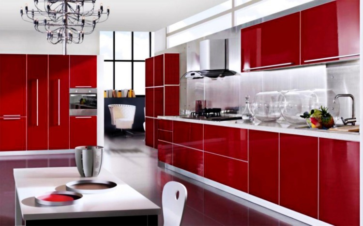 Red Kitchen Design Ideas