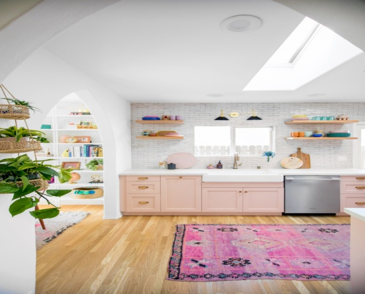 Pink Kitchen Design