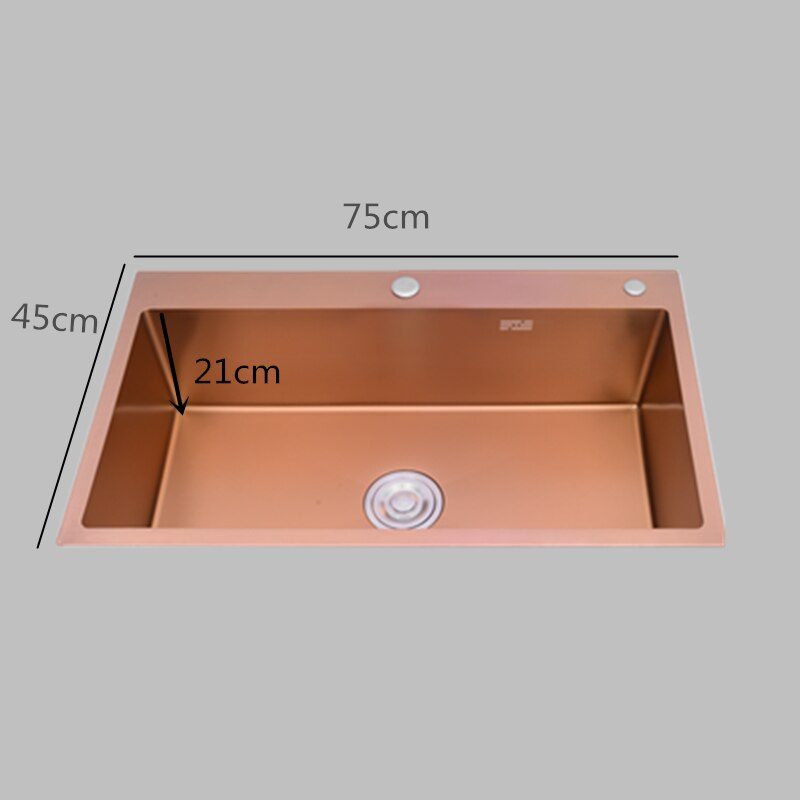 Rose Gold Kitchen Sinks