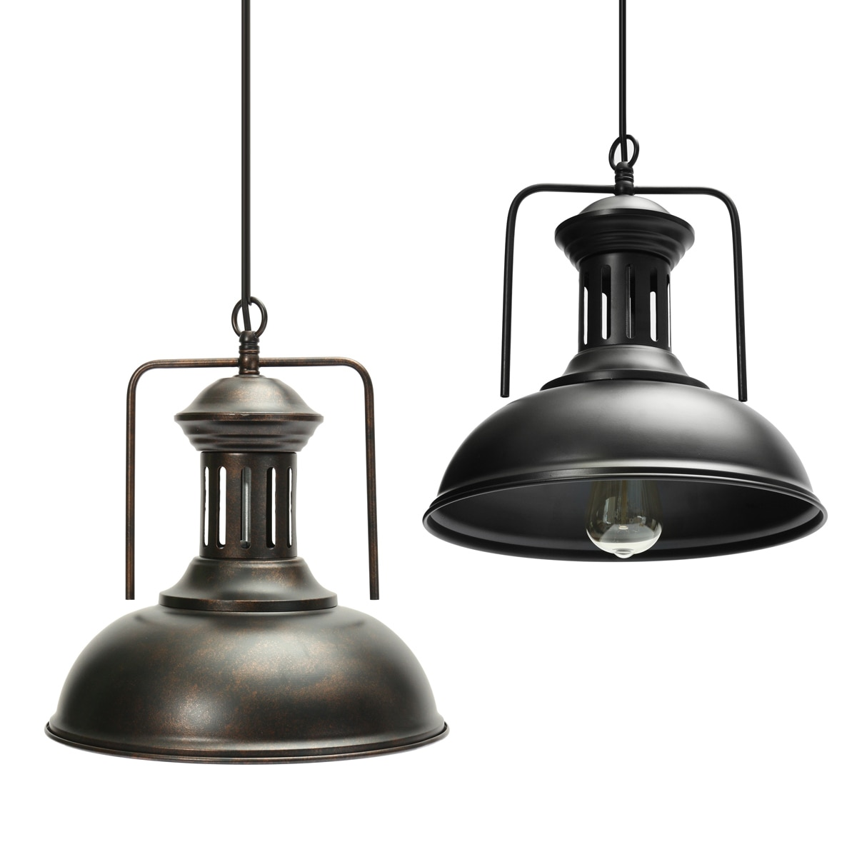 Black Rust Design Pendant Lighting