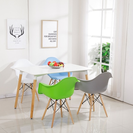 Colorful Minimalist Table for Dining Room