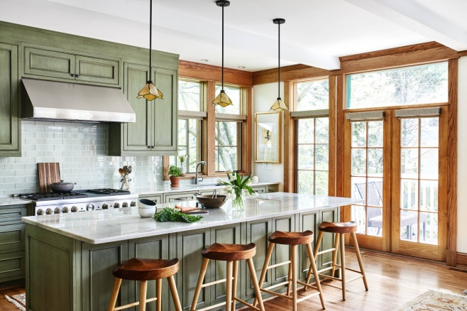 75 Beautiful Craftsman Kitchen Pictures & Ideas - April, 2021 | Houzz