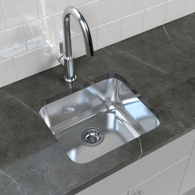 """Cantrio Koncepts 20"""" L x 18"""" W Bar Kitchen Sink with Sink and Drain Assembly and Stopper & Reviews 