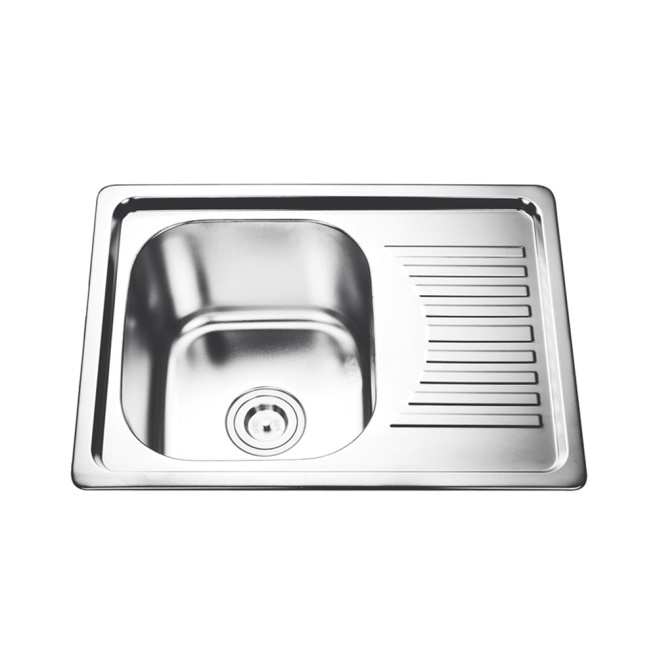 Metal Fashionable Kitchen Stainless Steel Sink With Board - Buy Kitchen Sink,The Queen Of Quality Kitchen Sink,Sink Product on Alibaba.com